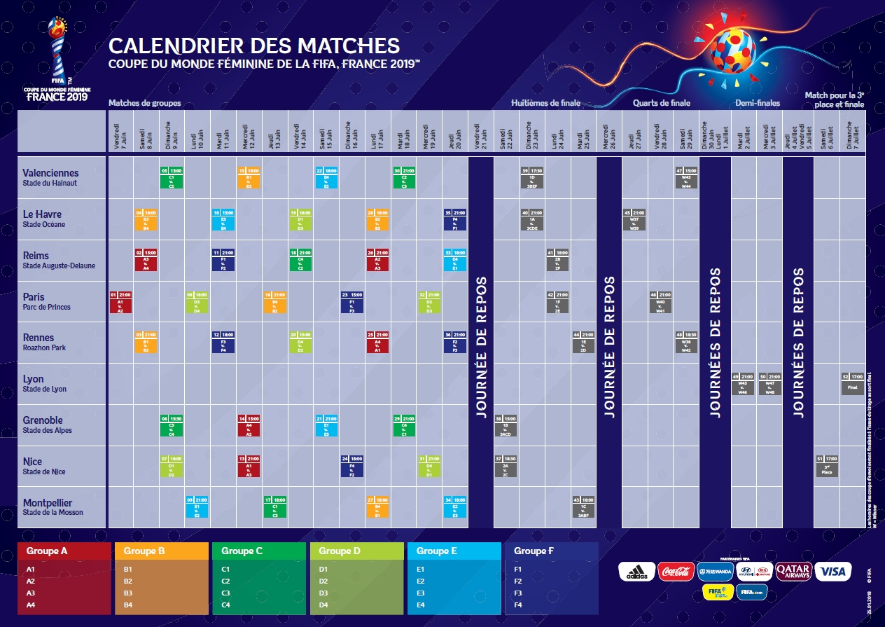 Match Om Calendrier.France 2019 Le Calendrier Devoile Ligue Bretagne De Football